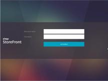 StoreFront Logon Screen